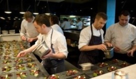 Britse topchef stelt menu samen voor Nevy