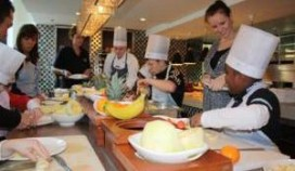 Kids aan de kook in Scossa