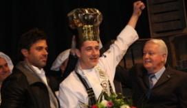 Lars van Galen aan de haal met Gouden Koksmuts 2011