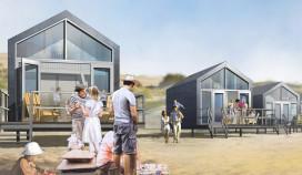 Bungalowgigant bouwt huisjes op het strand
