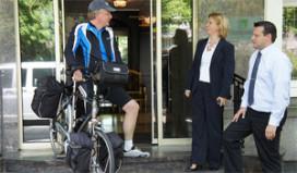 Hampshire zet twitterende en bloggende fietser in