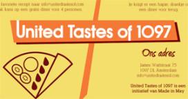Buurt bepaalt koers nieuw concept 'United Tastes of