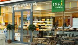 Gezonde snelle hap van Exki naar Nederland