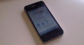 Horeca via iPhone prominent op Google