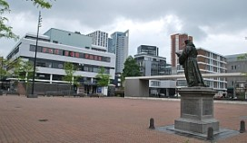 Rotterdam: picknickgevoel op het plein