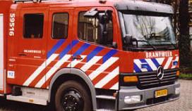 Strandtent verwoest door brand