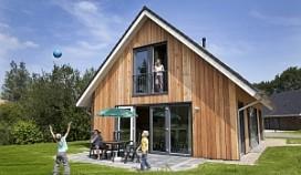 Landal heeft eco-woningen op Aelderholt
