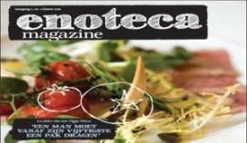 Restaurant Enoteca presenteert eigen magazine