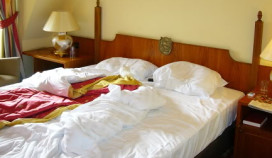 Slecht hotelbed: lage fooi
