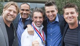 Olympische winnaars inaugureren Hans van Wolde als Meesterkok