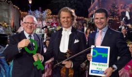André Rieu geeft Green Key aan Apple Park Hotel
