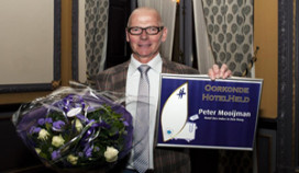 Peter Mooijman van Des Indes is Hotelheld