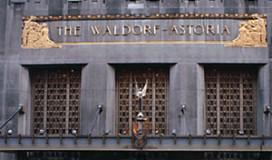 Waldorf Astoria Hotel naar Amsterdam