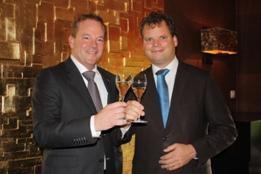 Eretitels voor Merlet en De Burgemeester in Grootspraak 2012