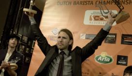 Coen van Sprang wint NK Barista