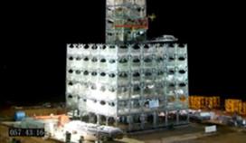 Hotel met 30 verdiepingen in 360 uur gebouwd