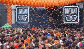 Geen 538 Koninginnedagfeest in Amsterdam