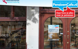 Virtueel café voor vragen over pensioen