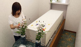 Japans dodenhotel slaat lichamen op