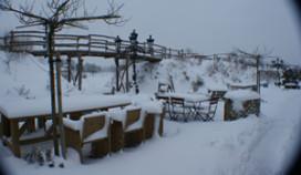 Hevige sneeuwval ontregelt horeca