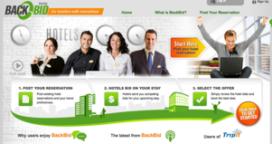 Bij BackBid.com bieden hotels op boekingen