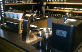 Starbucks Amsterdam introduceert eerste Clover van Europa
