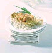 Scholfilet met rivierkreeftjes en kaassaus