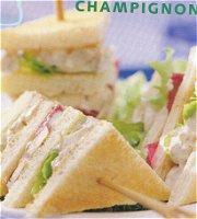 Champignonsandwiches
