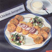 Menu 'Chicken Acropolis