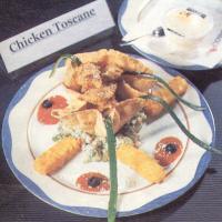 Menu 'Chicken Toscane