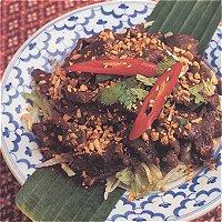 Neua Kratieam (Thaïs, met biefstuk)