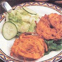 Onion Bhaji (Indiaas, met uien)