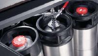 Aansluiten reinigen bierinstallatie
