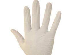 Latex handschoen schadelijk voor gezondheid