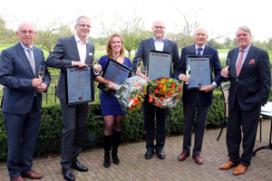 Vier nieuwe Magister Vini krijgen diploma