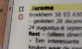 Jeroen Trimbos van Jérôme grapt over Michelinster