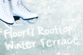 Ramada Apollo opent schaatsbaan op 85 meter hoogte