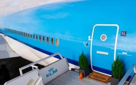KLM met pop-up hotel op Airbnb