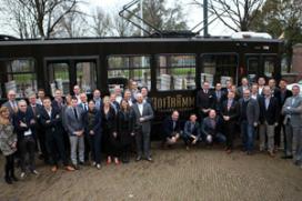 AF&BM bedankt partners met culinaire tramrit