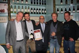 Hotel Pulitzer en Terra Vitis pakken Beste Wijnspijs Combinatie 2014