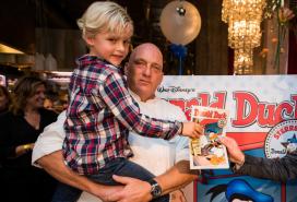 Herman den Blijker duikt op in Donald Duck