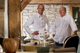 Twee nieuwe driesterrenrestaurants voor Frankrijk