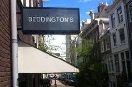 Bart van Lieshout verkoopt Beddington's