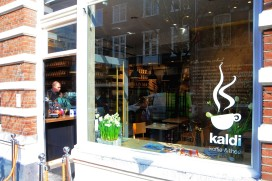 Vernieuwde vestiging Kaldi Maastricht heropend