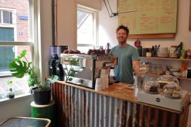 Specialty coffee bar van Raymond Veldhoen in Amersfoort