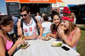 Foodtruck tourt langs Hogescholen en Universiteiten