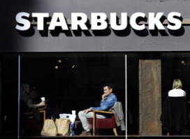 Gratis krant voor Starbucks-fan