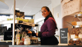 SAB start met live koffieconcept