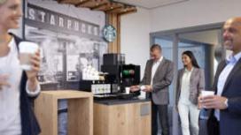 Starbucks straks ook op het werk