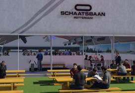 Schaatsbaan Rotterdam kiest Van der Linde